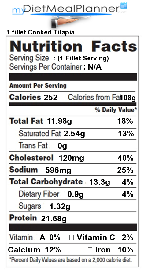 Nutrition facts label fish seafood 3 for How many calories in fried fish
