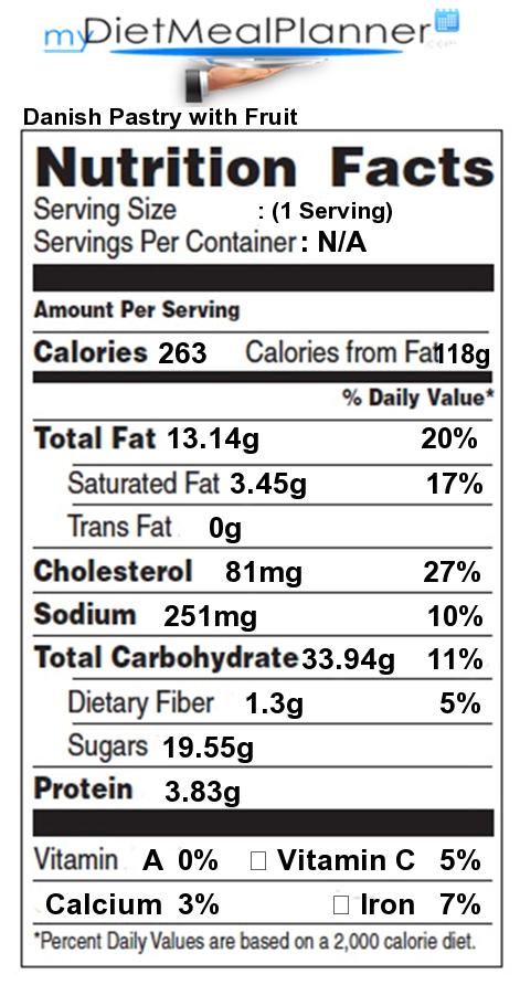 recipe: fruit danish calories [5]