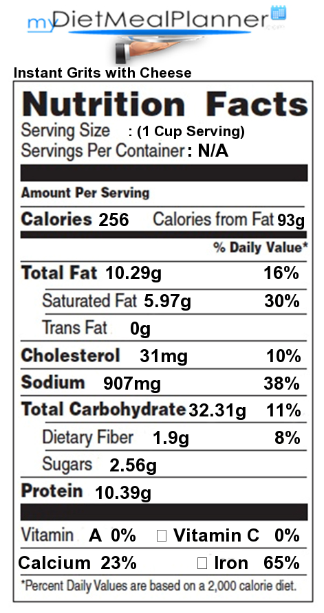 Nutrition Facts Label Other 21 Mydietmealplanner Com