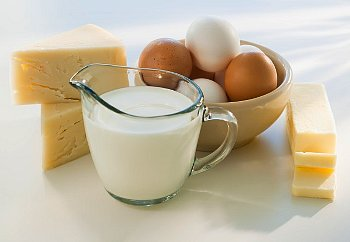 Nutrition Facts - Cheese, Milk & Dairy