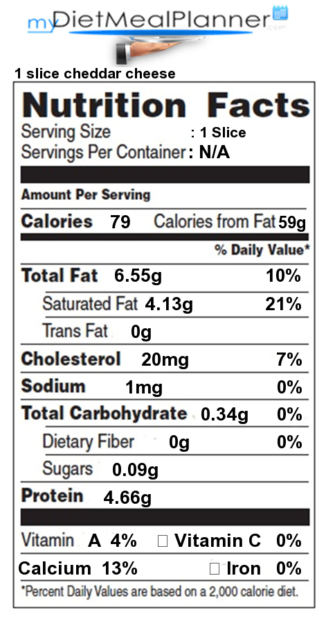 Nutrition Facts Label Cheese Milk Amp Dairy 6