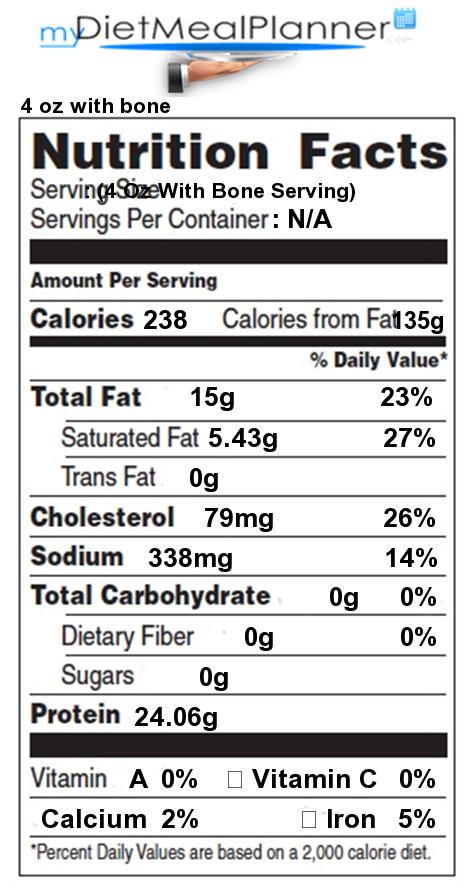 bake chicken breast nutrition facts