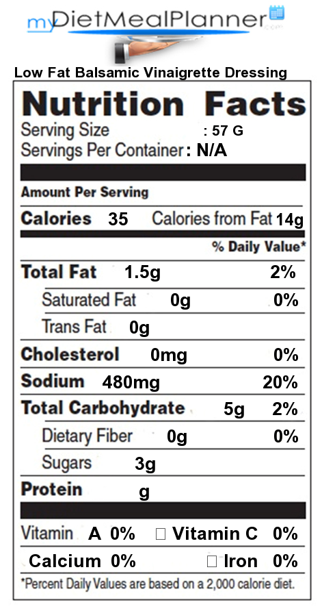 Nutrition Facts Label Popular Chain Restaurants 44